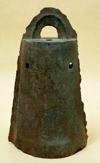 【写真】阿南市から出土した銅鐸(伝長者ヶ原2号銅鐸)