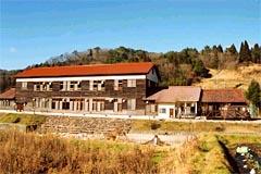 廃校を改築した都市と農村の交流施設「清流の家」