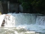 まんのう町 満濃池のゆる抜き 平成20年6月13日
