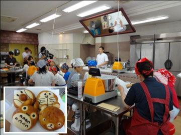夏休み親子米粉パン教室の開催