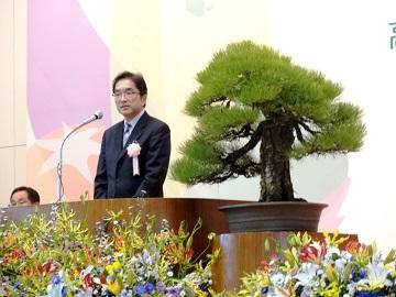 高知県園芸品販売拡大推進大会の開催(局長の挨拶)