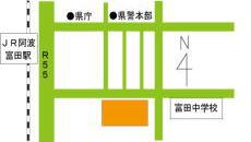 徳島農政事務所地図画像