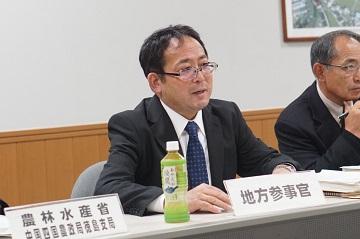 齊藤地方参事官による施策説明