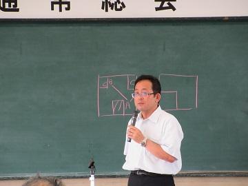 齊藤地方参事官の講演
