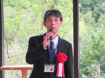 髙橋支局長の挨拶