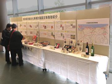 県内6次産業事業者の紹介展示
