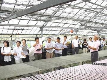 「岡山地域農業の障害者雇用促進ネットワーク」第3回セミナーのドリーム・プラネットの施設見学