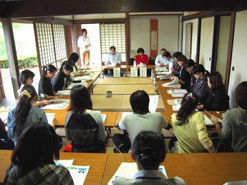「大学生を対象とした農業体験と意見交換会」の開催:意見交換会