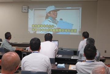 特定家畜伝染病防疫講習会 DVD視聴による講義