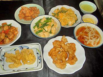 坂本氏が調理した料理
