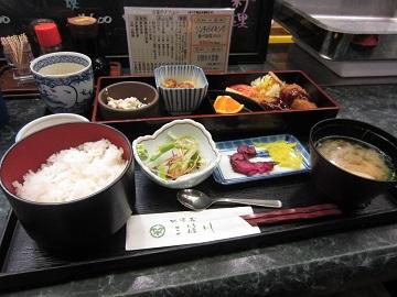 福島県産米を使用した定食