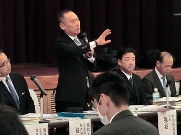 塩川危機管理・政策評価審議官の挨拶