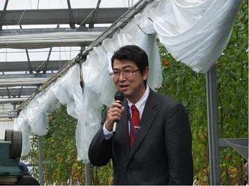「平成27年度中国四国農政局情報交流モニター交流会」を開催_部長の挨拶