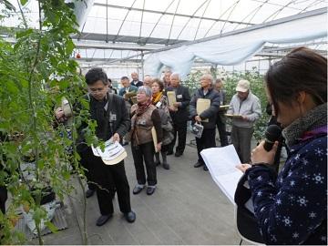 「平成27年度中国四国農政局情報交流モニター交流会」を開催ハウストマト