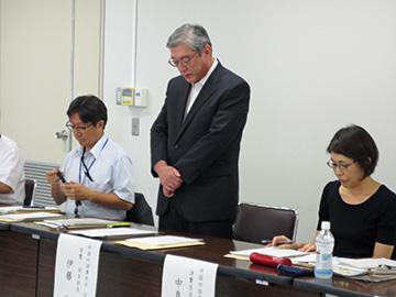 伊藤消費・安全部長の挨拶