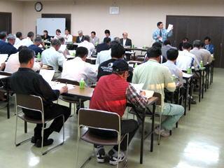 安来市(あかえ地区)農業者と意見交換会(6月2日)