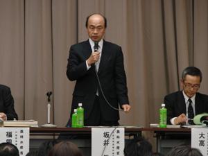 戸別所得補償モデル対策に係る広島県説明会の様子