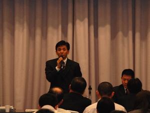 戸別所得補償モデル対策に係る愛媛県説明会の様子