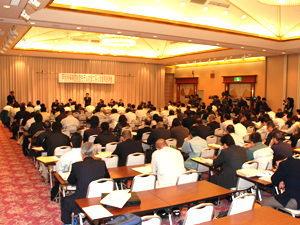 戸別所得補償モデル対策に係る徳島県説明会の様子