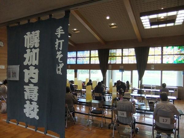 幌加内高校商店会(夏の市)が開催されました。