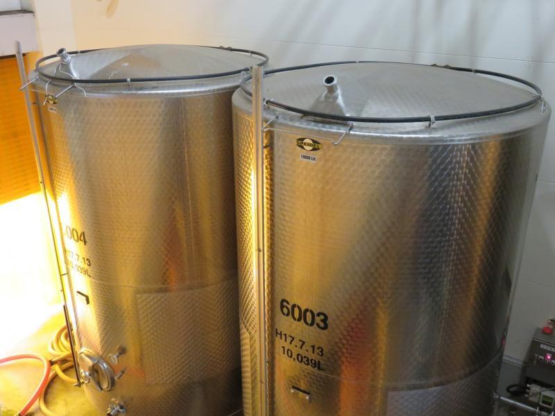 ワイン専用種の収穫(鶴沼ワイナリー)