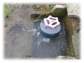 農業用水の取水