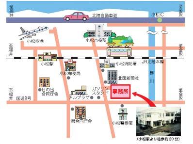 事務所アクセス図