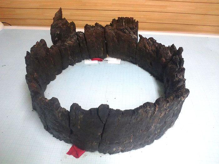 石組井戸から出土した木製品