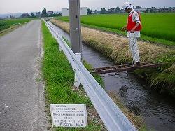 路線ごとの水質監視(採水状況)