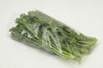 春菊:葉の先がピンとしていて、緑が濃く鮮やかなものを選びましょう。