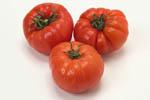 トマト:色が濃くて、ツヤ・ハリがあり、重みのあるもの、へたの切り口がしなっとしたり、枯れたりしていないものを選びましょう。