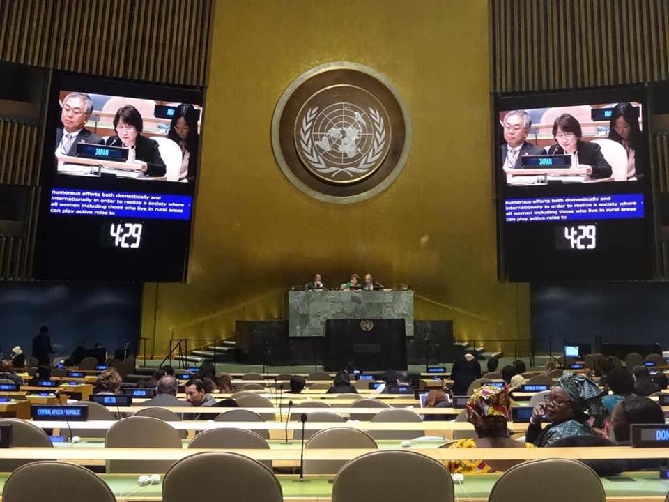 第62回 国連女性の地位委員会(CSW62)