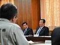 大臣の動き:「平成28年熊本地震に関する農林水産省緊急自然災害対策本部」の第5回会合の開催の様子