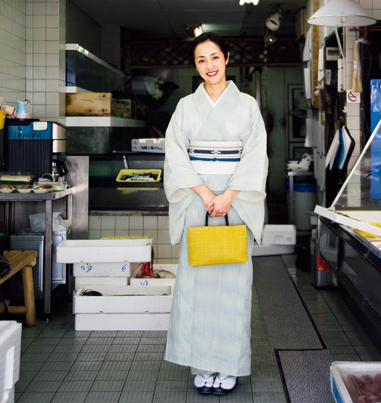 料理研究家の大原千鶴さんの写真 今回の案内人 料理研究家 大原千鶴 さん 料理研究家。京都の奥座