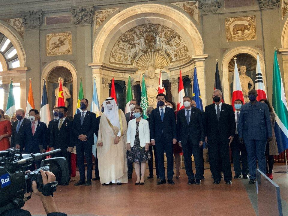 各国の閣僚