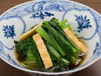 小松菜の煮びたし:農林水産省