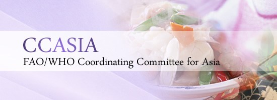 CCASIA FAO/WHO Coordinating Committee for Asia