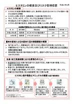 ヒスタミンの概要とリスク管理措置に関するPDFファイル