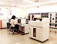 当時の大型コンピューター