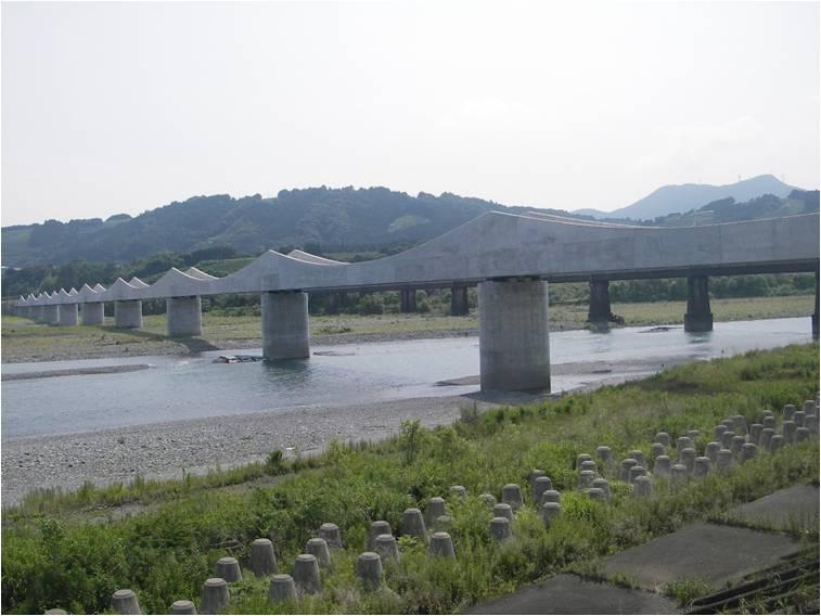 大井川水路橋