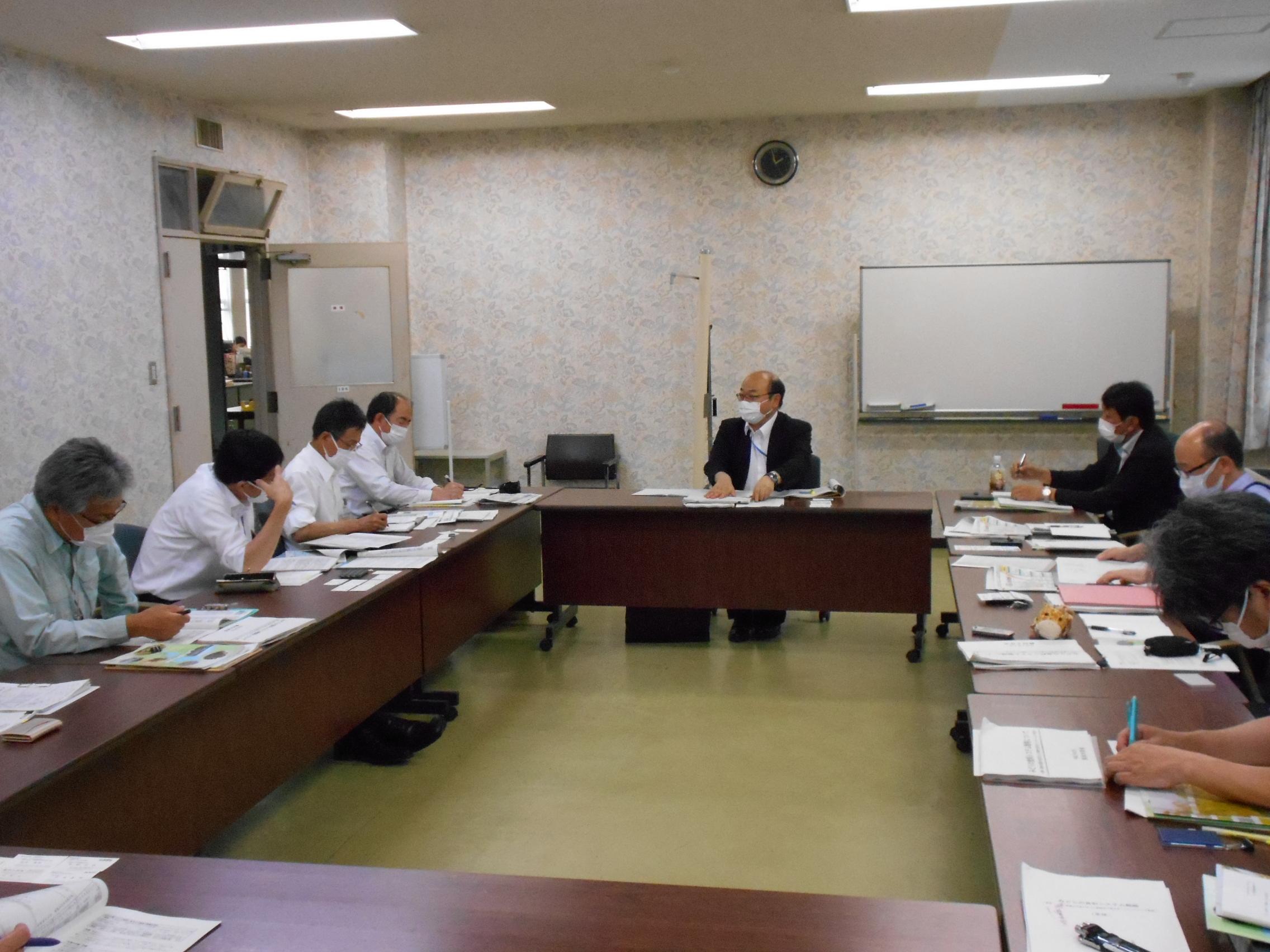 滋賀県農業技術振興センターとの意見交換を実施しました