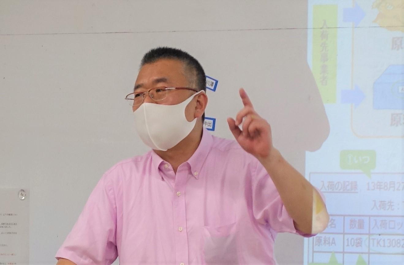 「食品安全の仕組みや消費者に信頼されるための取組み」について講義