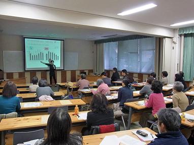 「未来へつなぐ日本食・食育ストラテジー」をテーマとした食育講座を開催しました