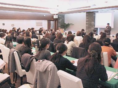 「近畿地域食育実践者等の交流会」の様子