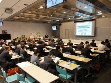 京都大学大学院の小田教授による講演