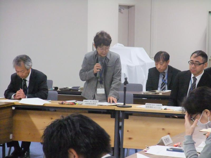 開会のあいさつ(経営・事業支援部地域食品課長)
