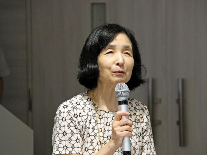 同志社女子大学生活科学部食物栄養科学科特任教授 伊藤節子氏の基調講演