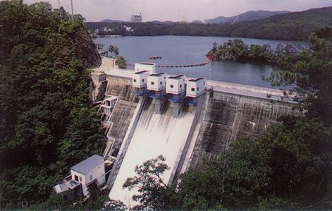 鴨川ダム写真