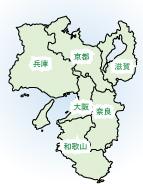 近畿イメージマップ