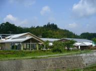 観光物産センターの全景